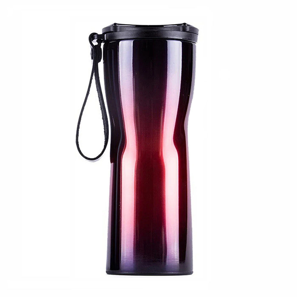 Умный термос Xiaomi Kiss Kiss Fish Moka Smart Cup OLED 430ml (Фиолетовый)