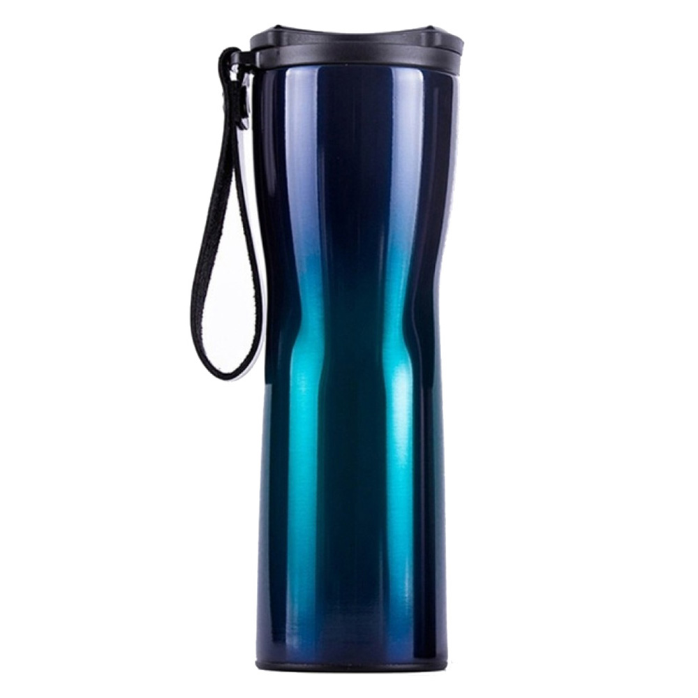 Умный термос Xiaomi Kiss Kiss Fish Moka Smart Cup OLED 430ml (Синий)
